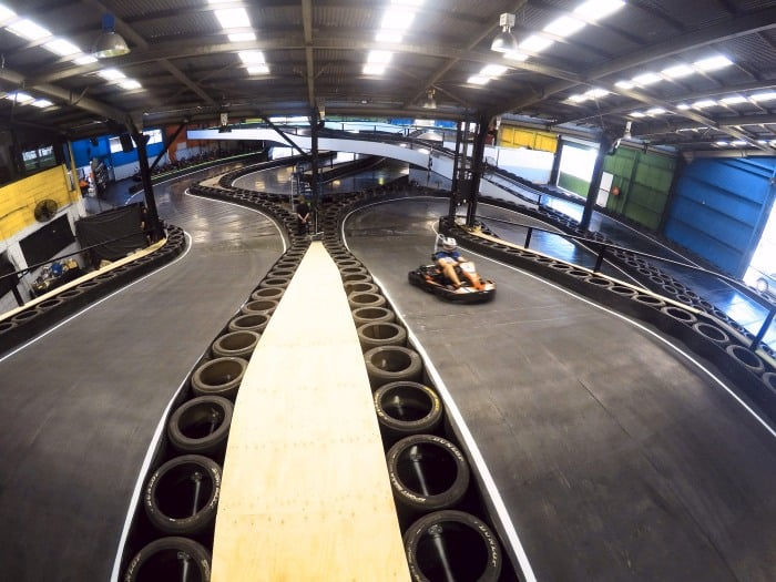Slideways Go Karting Brisbane new track layout