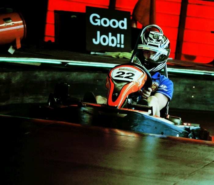 Good Job! You'll love our multi-level race track