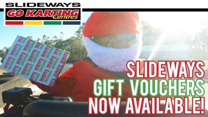 Slideways Go Karting Brisbane Gift Certificate Ideas