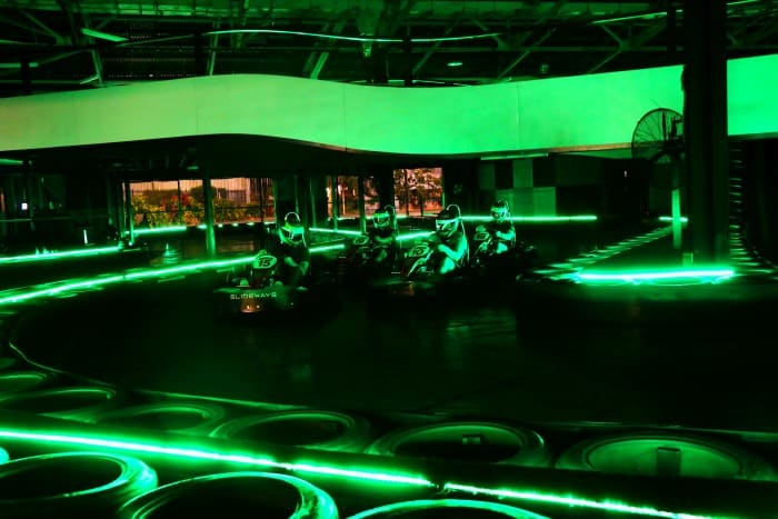 Slideways Glow Karting