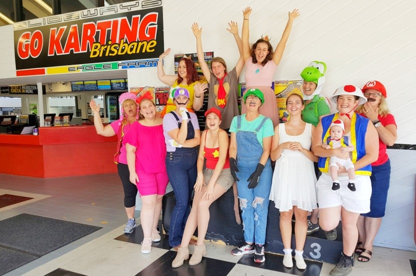 Brisbane Go Karting Hens Parties