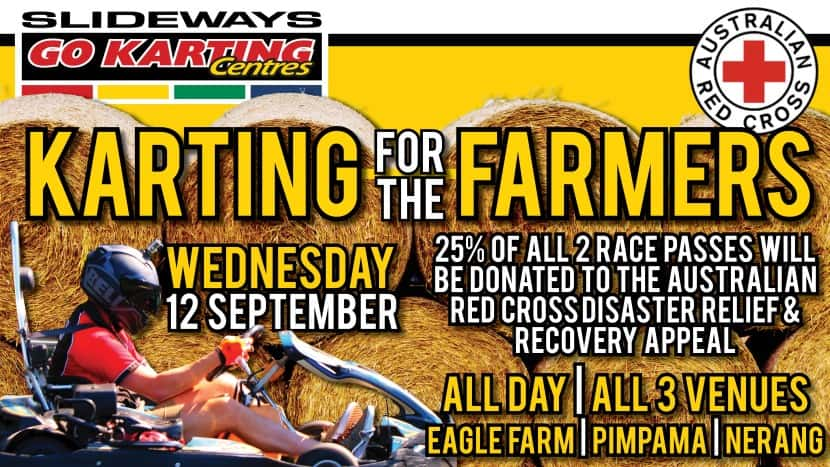 Slideways Karting for the Farmers