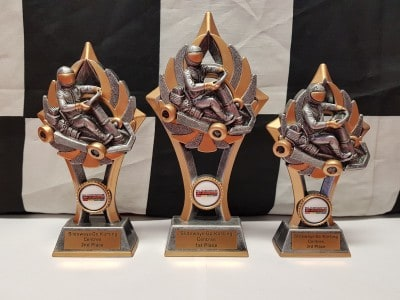 Medium Trophy Set $60