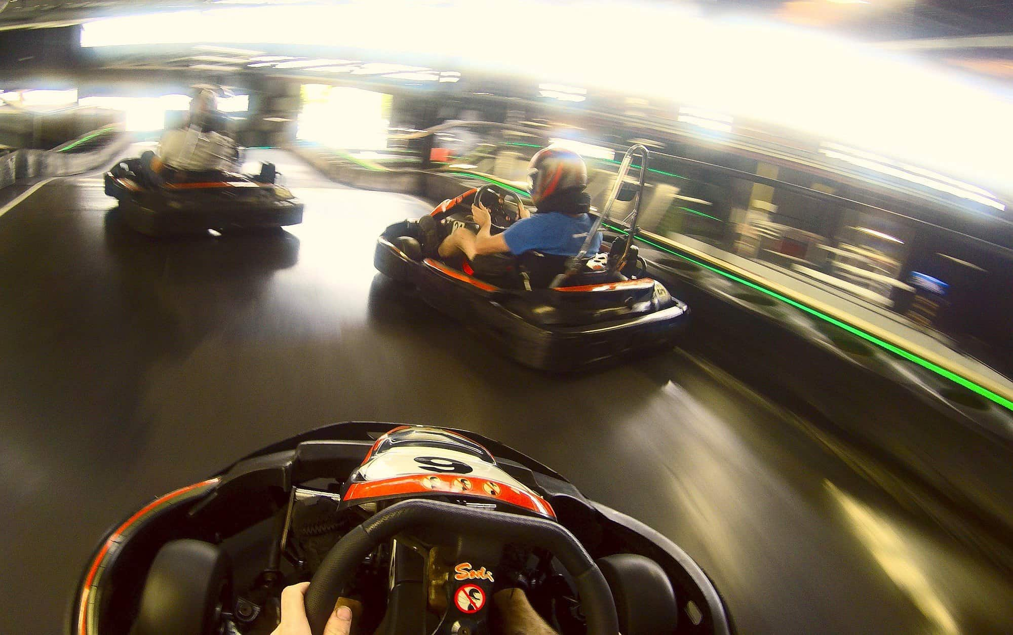 Drift karting is the ultimate indoor fun!