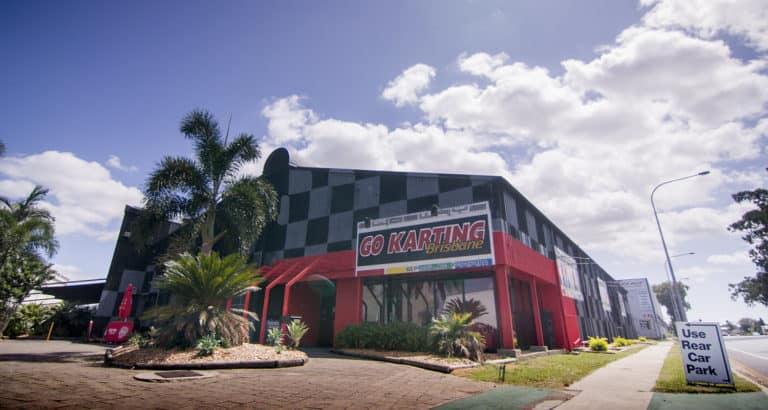 Outside view of Go Karting Brisbane