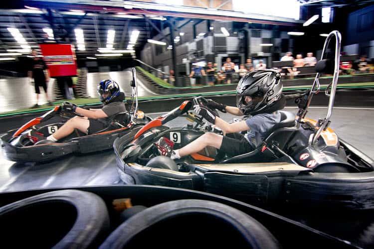 Junior go racing in Brisbane