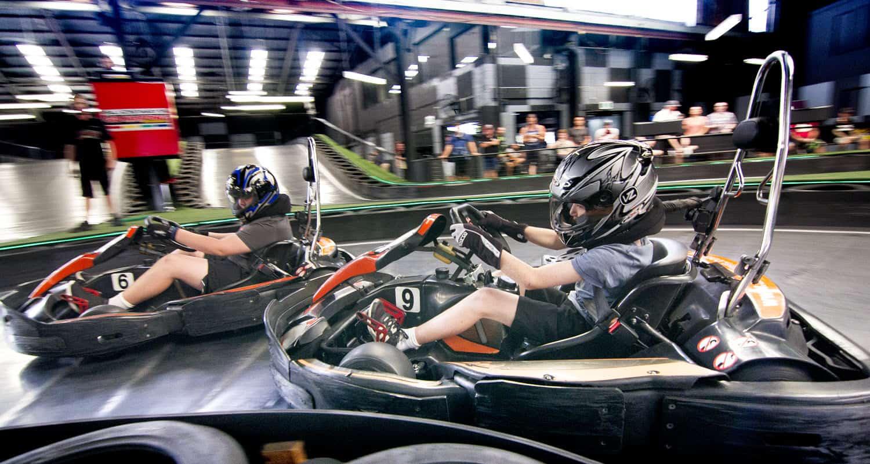 Brisbane Juniors Go Kart Racing
