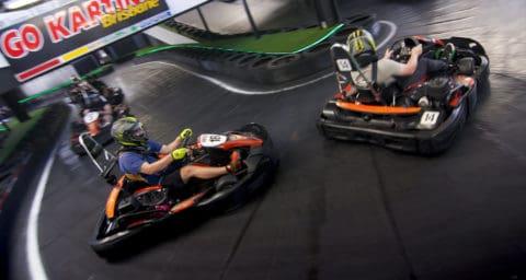 Drifting Karts at Go Karting Brisbane