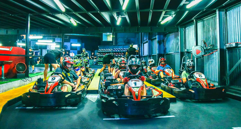 Go Karts ready to race