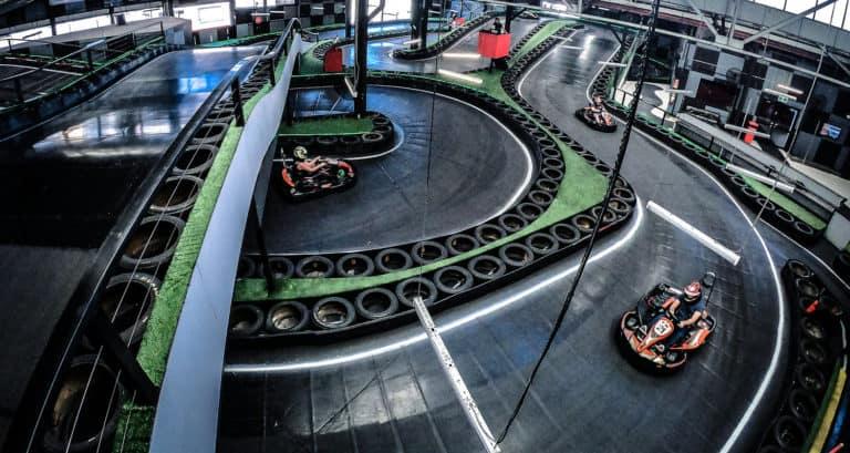 Our indoor Go Karting track Brisbane
